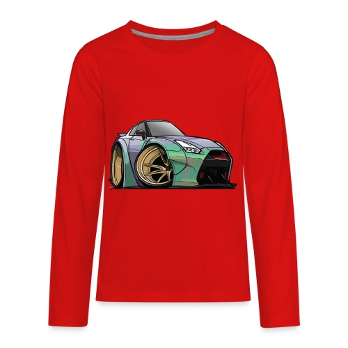 R35 GTR - Kids' Premium Long Sleeve T-Shirt