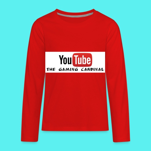 Youtube temp logo - Kids' Premium Long Sleeve T-Shirt