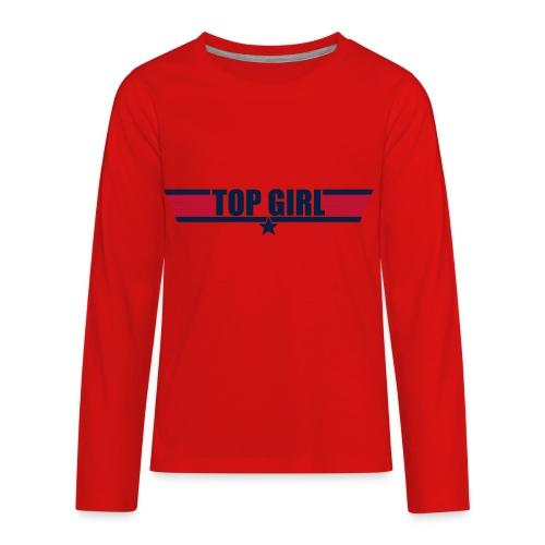 Top Girl - Kids' Premium Long Sleeve T-Shirt