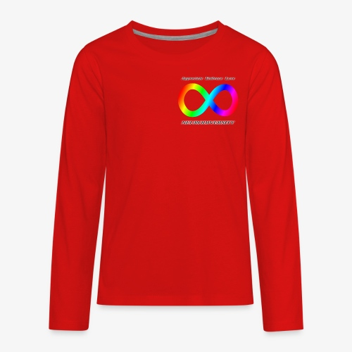 Embrace Neurodiversity - Kids' Premium Long Sleeve T-Shirt