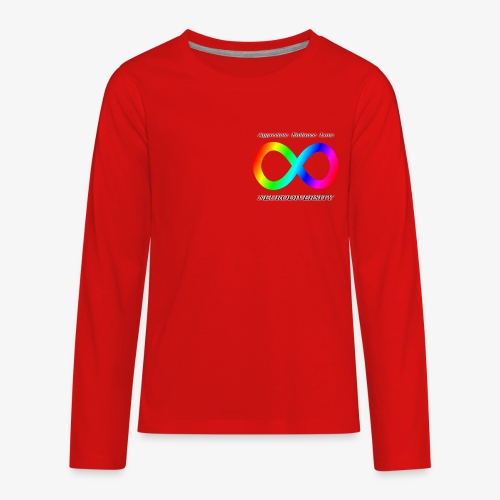 Embrace Neurodiversity - Kids' Premium Long Sleeve T-Shirt