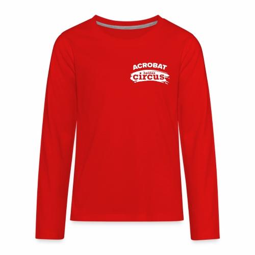 Halifax Circus Acrobat - Kids' Premium Long Sleeve T-Shirt
