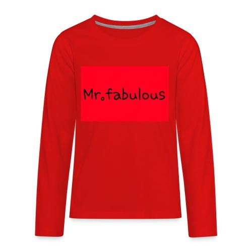Fabulous - Kids' Premium Long Sleeve T-Shirt