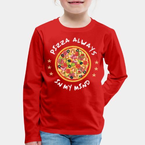 pizza fast food - Kids' Premium Long Sleeve T-Shirt