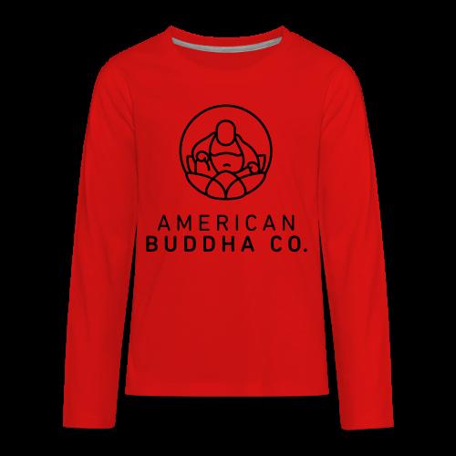 AMERICAN BUDDHA CO. ORIGINAL - Kids' Premium Long Sleeve T-Shirt