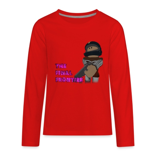 The Final Frontier - Kids' Premium Long Sleeve T-Shirt