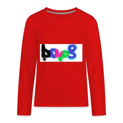 brush the haters off - Kids' Premium Long Sleeve T-Shirt