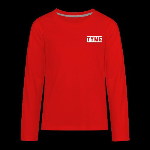 !new! TYME merch - Kids' Premium Long Sleeve T-Shirt
