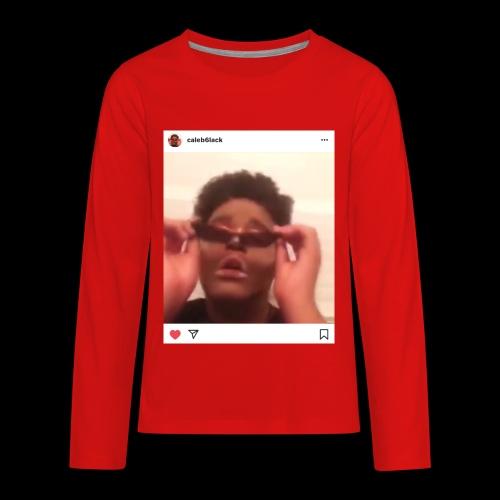 Caleb6lack - Kids' Premium Long Sleeve T-Shirt