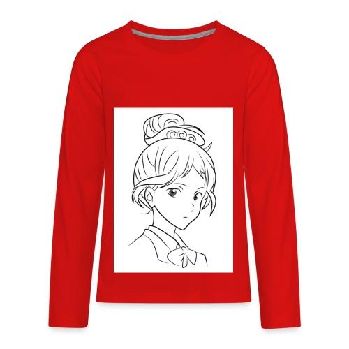 Girl - Kids' Premium Long Sleeve T-Shirt
