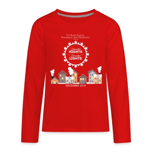 December Nights, December Lights K-5 Show Shirt - Kids' Premium Long Sleeve T-Shirt