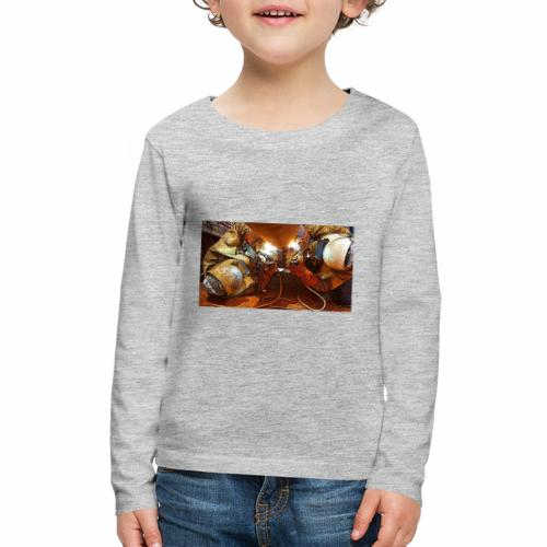 Pipeliners Down Under - Kids' Premium Long Sleeve T-Shirt