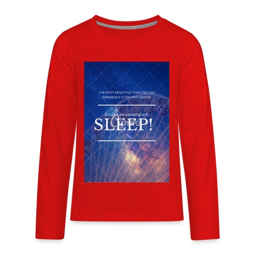 Sleep Galaxy by @lovesaccessories - Kids' Premium Long Sleeve T-Shirt