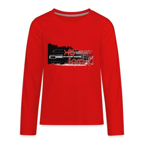 XB Coupe skid - Kids' Premium Long Sleeve T-Shirt