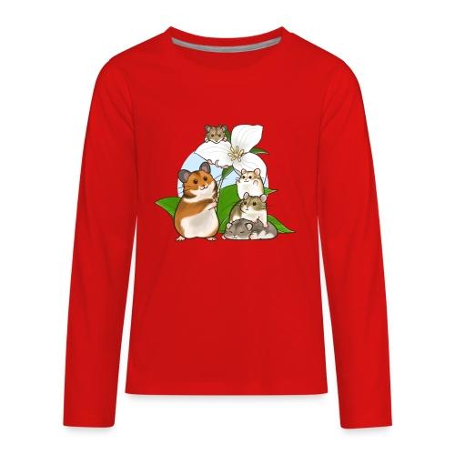 Ontario Hamster Club - Kids' Premium Long Sleeve T-Shirt