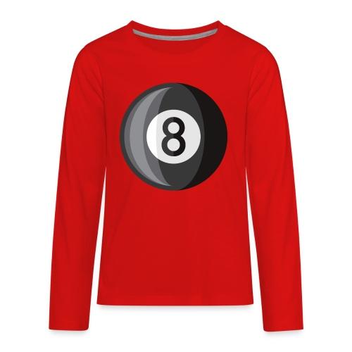 8 Ball - Kids' Premium Long Sleeve T-Shirt
