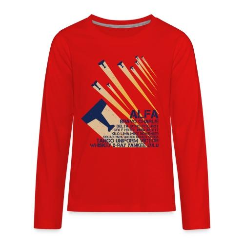 International Phonetic Alphabet - Kids' Premium Long Sleeve T-Shirt