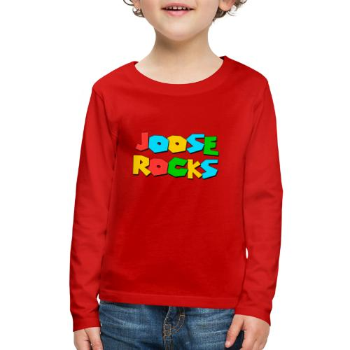 Super Joose Rocks - Kids' Premium Long Sleeve T-Shirt