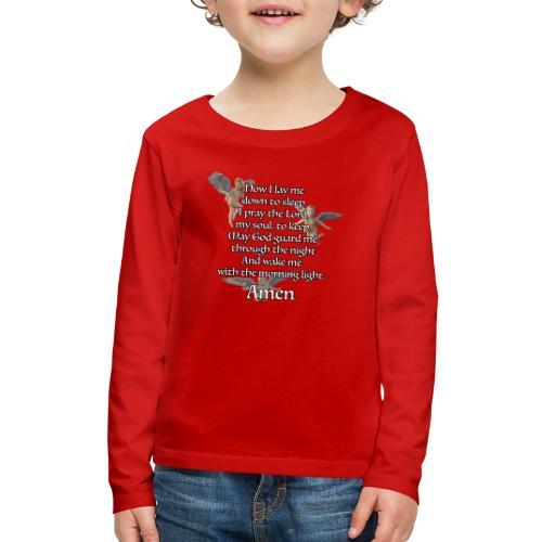 Bedtime prayer for Children - Kids' Premium Long Sleeve T-Shirt