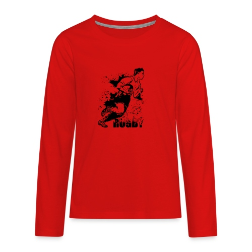 Just Rugby - Kids' Premium Long Sleeve T-Shirt