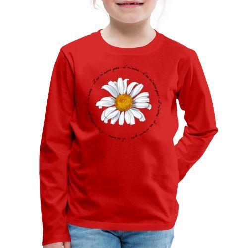 Faust: Marguerite (dark) - Kids' Premium Long Sleeve T-Shirt