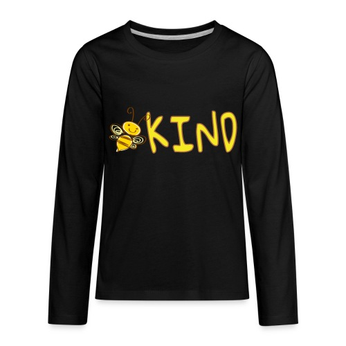 Be Kind - Adorable bumble bee kind design - Kids' Premium Long Sleeve T-Shirt