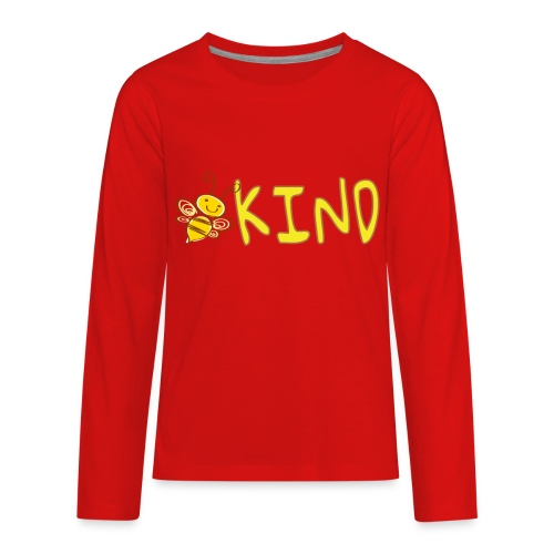 Be Kind - Adorable bumble bee kind design - Kids' Premium Long Sleeve T-Shirt