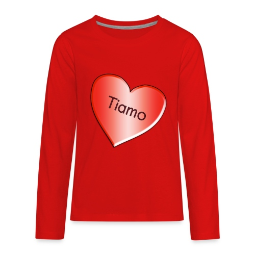 Tiamo I love you - Kids' Premium Long Sleeve T-Shirt
