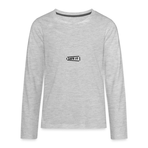 Live It V1 - Kids' Premium Long Sleeve T-Shirt