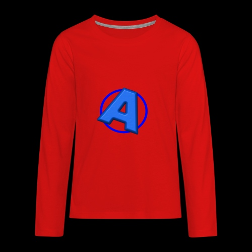 Awesomegamer Logo - Kids' Premium Long Sleeve T-Shirt