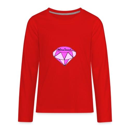 #GemSquad - Kids' Premium Long Sleeve T-Shirt