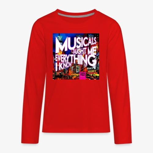 MTMEIK Cover - Kids' Premium Long Sleeve T-Shirt