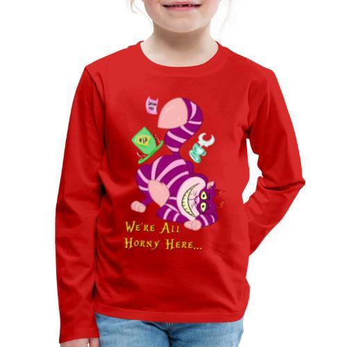 Cheshire Cat - Kids' Premium Long Sleeve T-Shirt