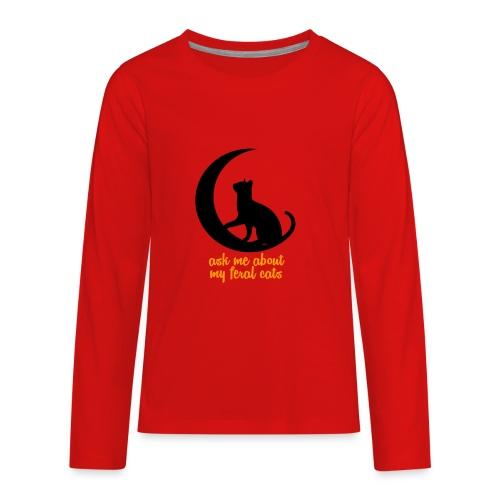 Feral Cats - Kids' Premium Long Sleeve T-Shirt