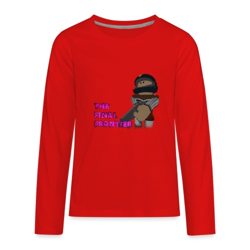 The Final Frontier Sports Items - Kids' Premium Long Sleeve T-Shirt