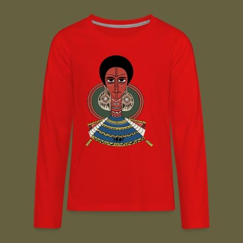 Habesha - Kids' Premium Long Sleeve T-Shirt