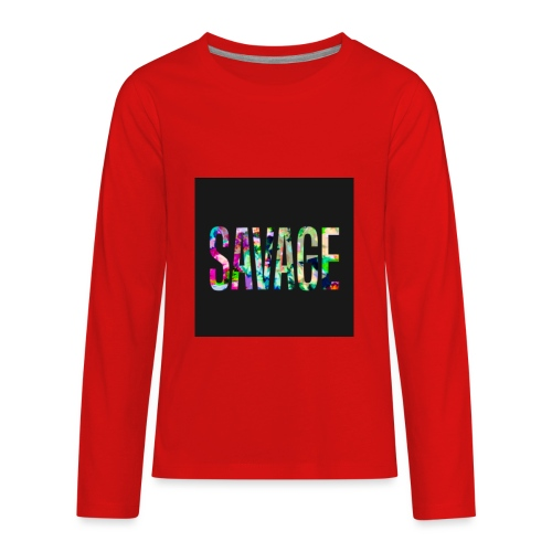 Savage Wear - Kids' Premium Long Sleeve T-Shirt