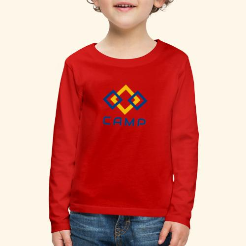 CAMP LOGO and products - Kids' Premium Long Sleeve T-Shirt