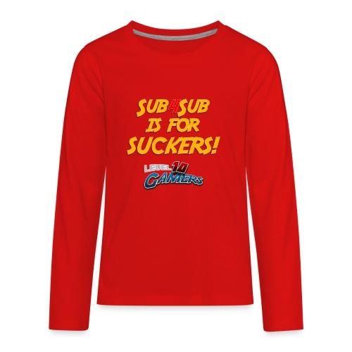 Anti Sub4Sub - Kids' Premium Long Sleeve T-Shirt