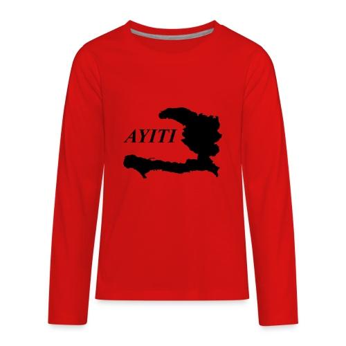 Hispaniola - Kids' Premium Long Sleeve T-Shirt