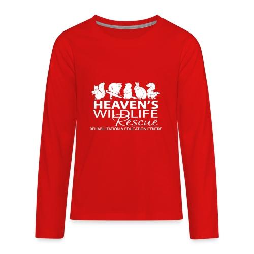 HWR White - Kids' Premium Long Sleeve T-Shirt
