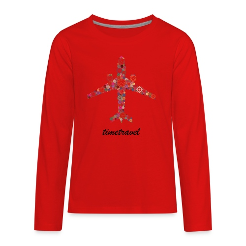 Time To Travel - Kids' Premium Long Sleeve T-Shirt