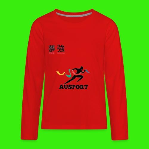 Dream and Strength - Kids' Premium Long Sleeve T-Shirt