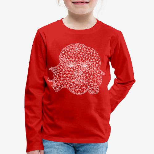 White Che - Kids' Premium Long Sleeve T-Shirt