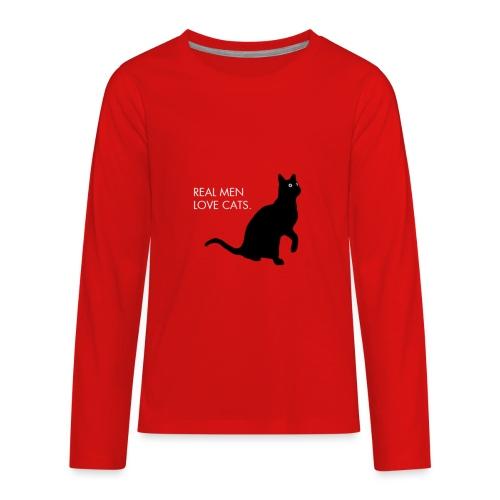 Real Men... - Kids' Premium Long Sleeve T-Shirt