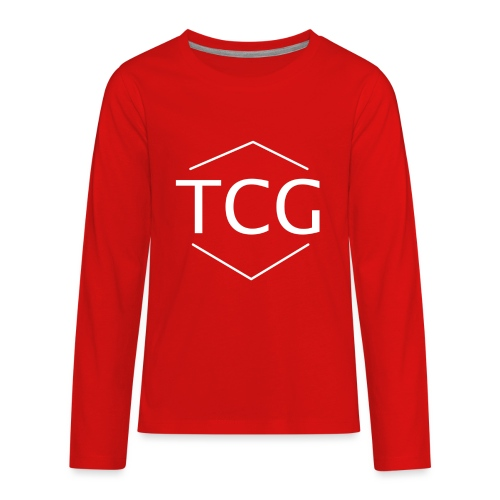 Simple Tcg hoodie - Kids' Premium Long Sleeve T-Shirt