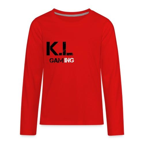 KL GAMING - Kids' Premium Long Sleeve T-Shirt