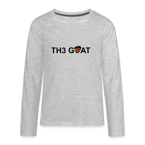 The goat cartoon - Kids' Premium Long Sleeve T-Shirt