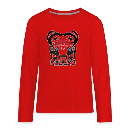 Eager Beaver - Kids' Premium Long Sleeve T-Shirt