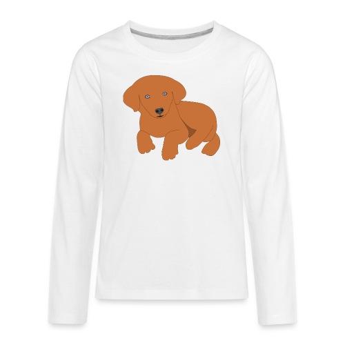 Golden retriever dog - Kids' Premium Long Sleeve T-Shirt